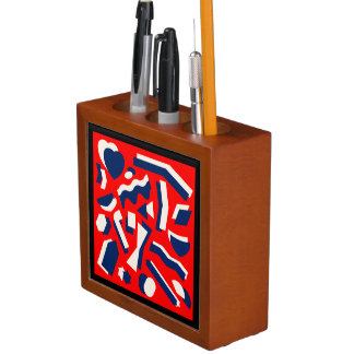 Abstrakte Formen Stifthalter