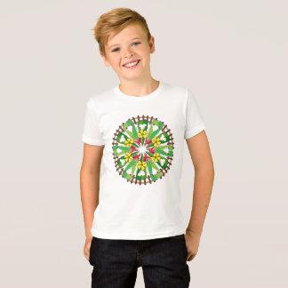 Abstrakte Garten-Illustration T-Shirt