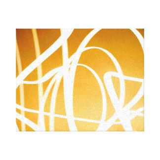 Abstrakte helle Malerei-Leinwand Gespannte Galerie Drucke