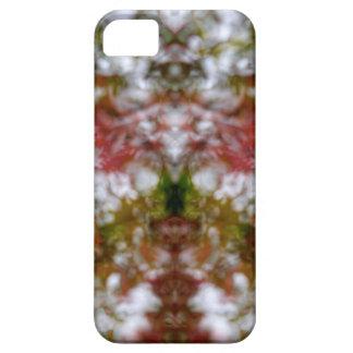Abstrakte Kaleidoskopzahl und -gesichter iPhone 5 Cover