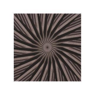 Abstrakte Kunst der Schwarz-weißen und grauen Holzdruck