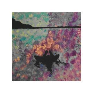 Abstrakte Leinwand-Malerei Leinwanddruck