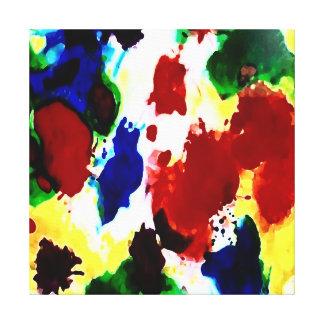 Abstrakte Malerei auf Leinwand