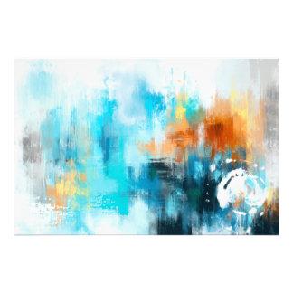 Abstrakte Malerei Fotodruck