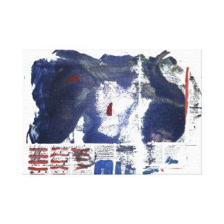 Abstrakte Malerei Galerie Faltleinwand