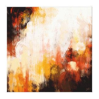 Abstrakte Malerei Gespannter Galeriedruck