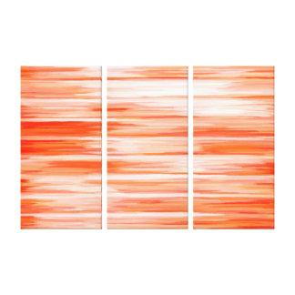 Abstrakte Malerei | Retro Orange18 Galerie Falt Leinwand