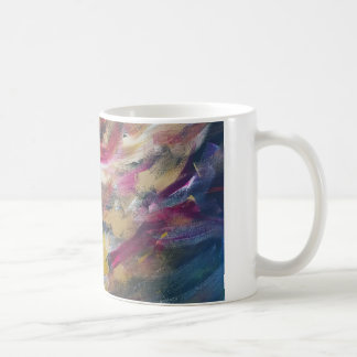 Abstrakte Malerei Tasse