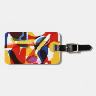 Abstrakte Mod-Welt Gepäckanhänger
