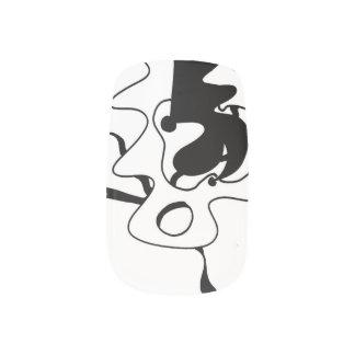 Abstrakte Nagel-Kunst (LI6 unbegrenzt) Nagelsticker