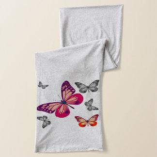 Abstrakte Schmetterlinge Schal