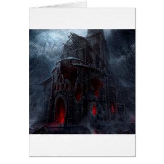 Abstrakte Stadtvampire-Mühle Karte