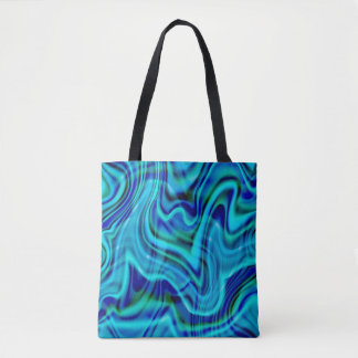 Abstrakter blauer Strudel-Entwurf