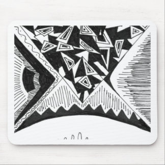 Abstrakter Entwurf Mauspad