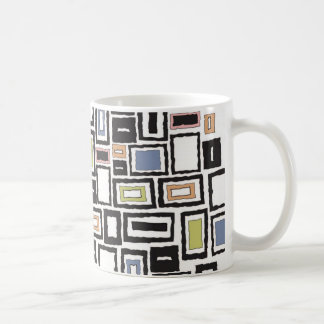Abstrakter Entwurf Tasse