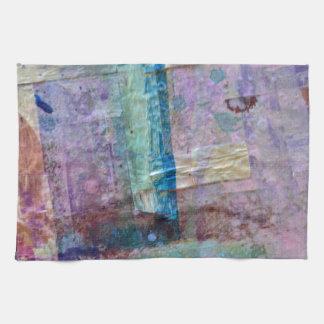 abstrakter Farbenhintergrund Küchenhandtuch