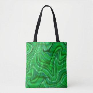 Abstrakter grüner Strudel-Entwurf