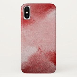 abstrakter Malereihintergrund iPhone X Hülle