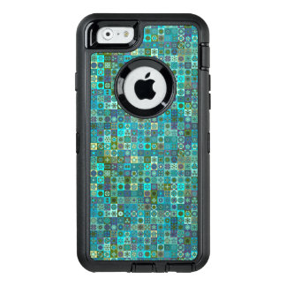 Abstrakter Musterentwurf des Blumenmandala OtterBox iPhone 6/6s Hülle
