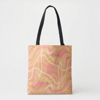 Abstrakter orange Strudel-Entwurf