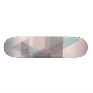 abstrakter Pastellskateboard Individuelle Skateboards