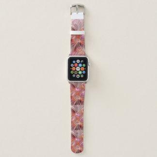 Abstrakter Schmetterlings-bunte Apple Watch Armband