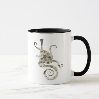 Abstrakter Vase Tasse