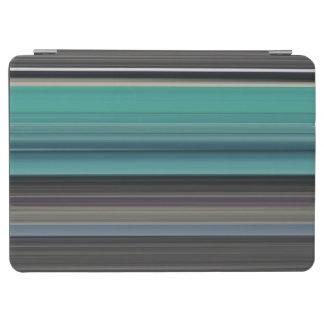 Abstraktes #1: Aquamarin und grau iPad Air Hülle
