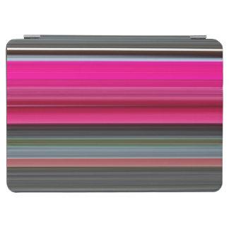 Abstraktes #1: Cerise und Grau iPad Air Cover