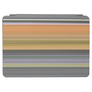 Abstraktes #1: Gelb und Grau iPad Air Cover