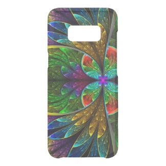 Abstraktes beflecktes Glas-Blumenmuster Get Uncommon Samsung Galaxy S8 Hülle