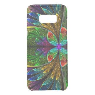 Abstraktes beflecktes Glas-Blumenmuster Get Uncommon Samsung Galaxy S8 Plus Hülle