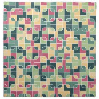abstraktes Bild Serviette