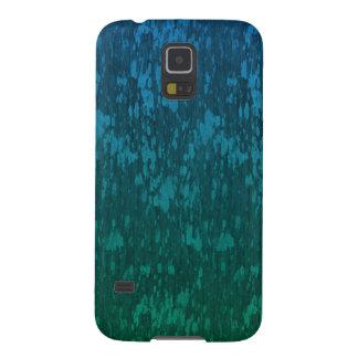 abstraktes blaues Grün Samsung Galaxy S5 Hülle
