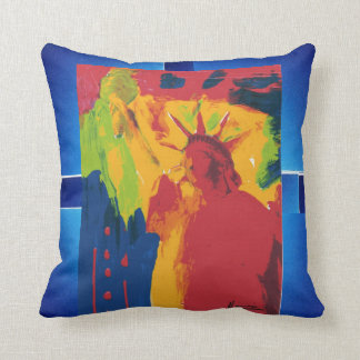 Abstraktes Kunstmalereikissen Kissen
