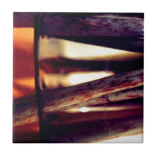 Abstraktes Makro Keramikfliese