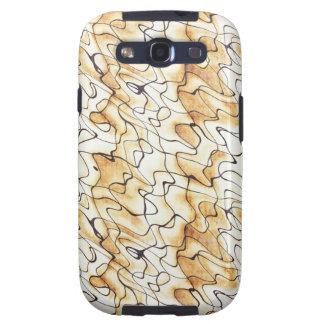 Abstraktes Muster des coolen orientalischen Schoko Hülle Fürs Samsung Galaxy S3