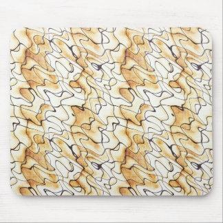 Abstraktes Muster des coolen orientalischen Schoko Mauspad