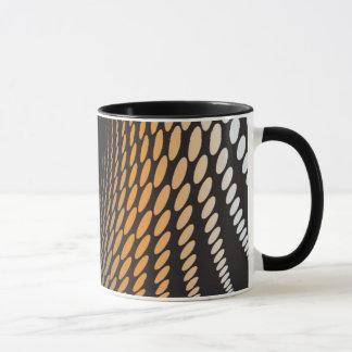 abstraktes Schwarzes durch Vectorportal Tasse