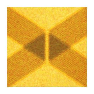 Abstrata geometrische Malerei - AB-0061F Gespannte Galeriedrucke