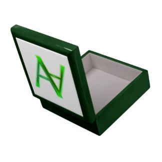 Absurde Achsen-Geschenkboxen Große Quadratische Schatulle