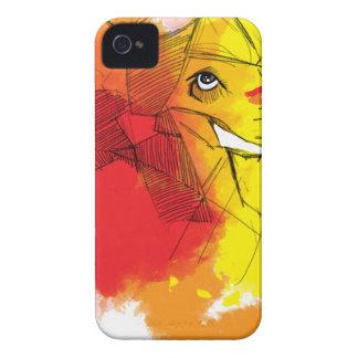 abtract Ganesha Malereien iPhone 4 Cover