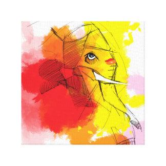 abtract Ganesha Malereien Leinwanddrucke