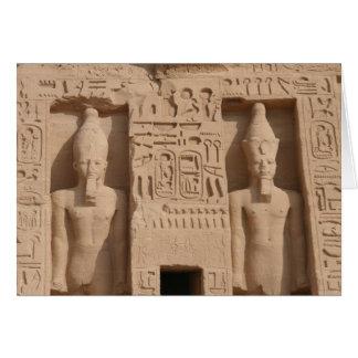abu simbel Statuen Karte