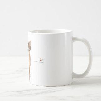 Abyssinische Katze Tasse