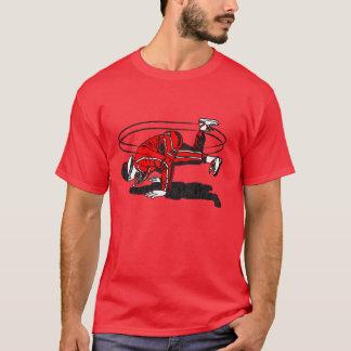 Achtzigerjahre alte Schulangesagtes Hopfen T-Shirt