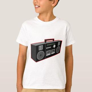 Achtzigerjahre Boombox T-Shirt