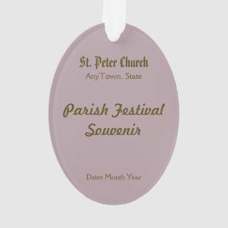 Acryl St Peter (P.M. 07) Ornament