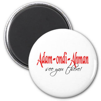 Adam Ondi Ahman Runder Magnet 5,7 Cm