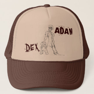 ADAM- u. DEX FERNLASTFAHRER-HUT (Mord mischen) Truckerkappe